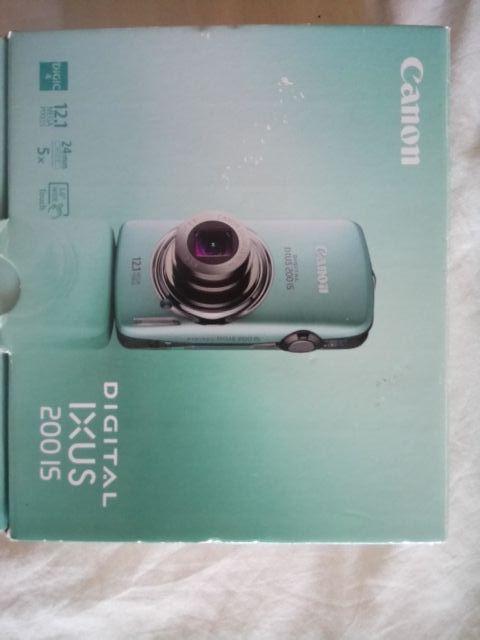 Cámara Canon Digital IXUS 200 IS