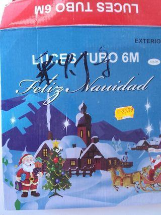Luces de Navidad (Tubo 6m)