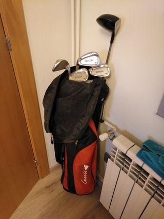 Set palos de golf pitch and put para zurdos