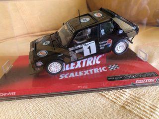 Coche de scalextric Lancia Delta