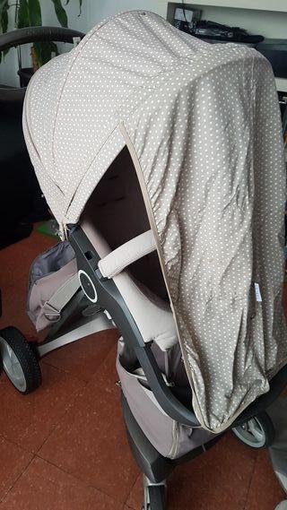 coche bebe Stokke Xplory completísimo
