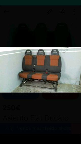 Asiento Fiat Ducato.