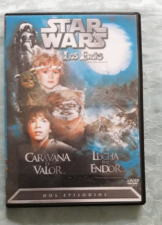 DVD Star Wars los ewoks