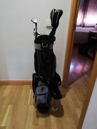 bolsa golf y palos