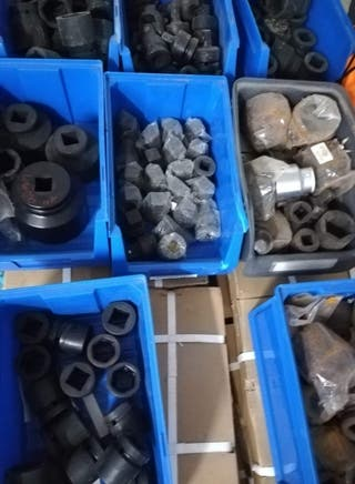 liquidación de gran lote de vasos de impacto