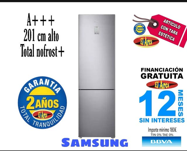Combi Samsung RL37J5439SS
