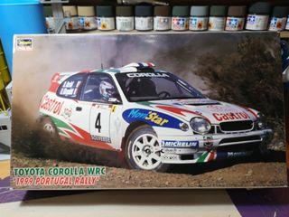 maqueta Toyota Corolla WRC