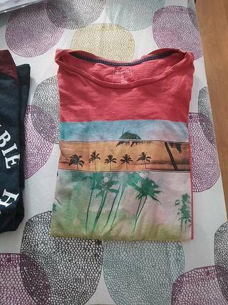 camisetas abercrombie y quiksilver