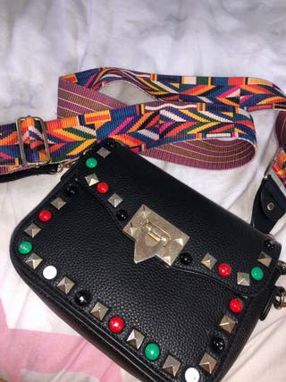 Valentino inspired cross body bag