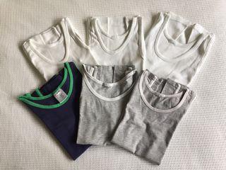 Lote 6 camisetas de tirantes 6/7 años