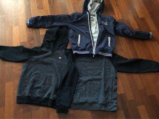 sudaderas y chaqueta