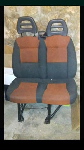 Asiento copiloto doble. Fiat Ducato X250