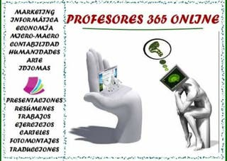Profesores 365 on line Trabajos a distancia Clases