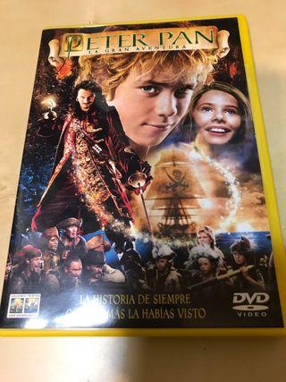 Peter Pan - La gran aventura DVD