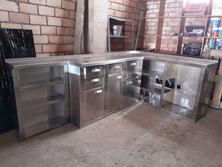 Mueble cafetero industrial