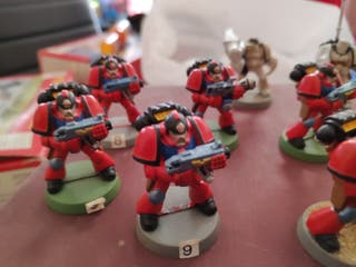 Warhammer 40k marines espaciales