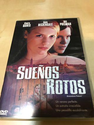 Película Sueños Rotos DVD
