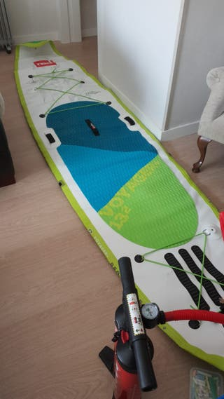 Tabla red paddle voyager 13,2 test hinchable demo