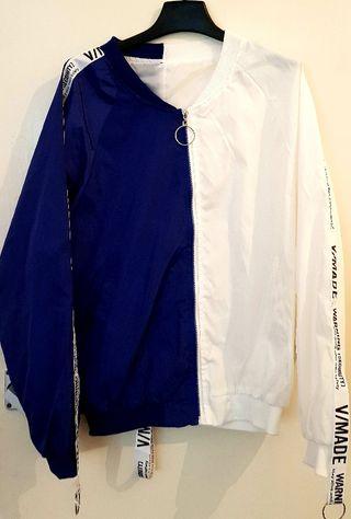 Face Print Waterproof Jacket