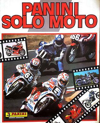 SOLO MOTO-PANINI ALBUM COMPLETO-1990