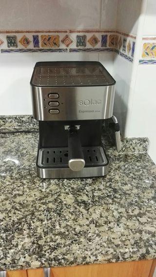 cafetera espresso Solac 20 bares