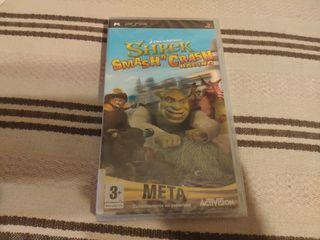 PRECINTADO Shrek Smash Crash Racing PSP