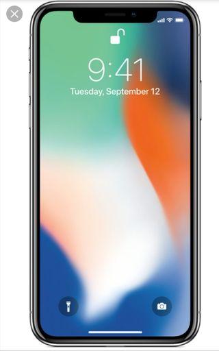 iPhone X 256 GB con garantía