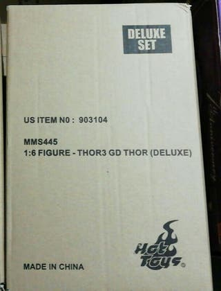 Thor Gladiator Deluxe Hot Toys