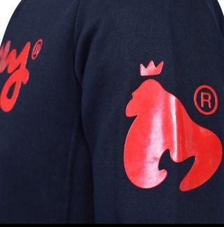 Money Men's Jumper (Black and Red)