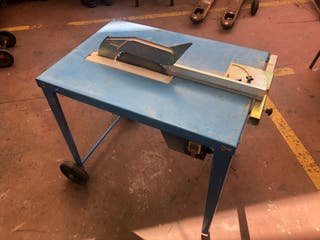Sierra de mesa para madera