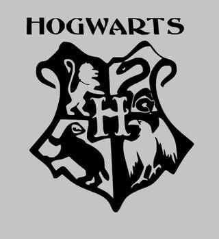 Vinilos decorativos Hogwarts pegatinas pared