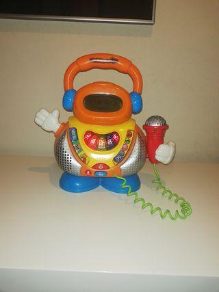 juguete de karaoke bebé
