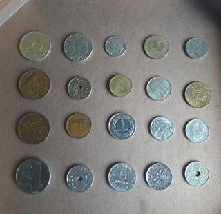 Colección monedas europa