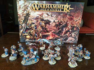 Warhammer AOS. Stormcast. Cities of Sigmar