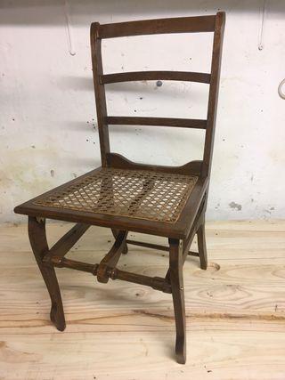 Preciosa silla plegable coleccionista