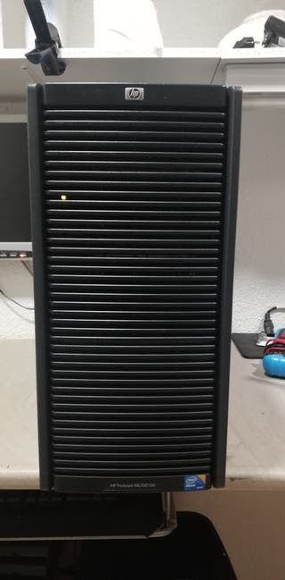 servidor hp g6 ML350