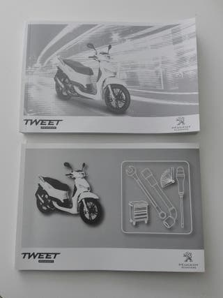 Manual Peugeot Tweet 50/125/150 C.C.