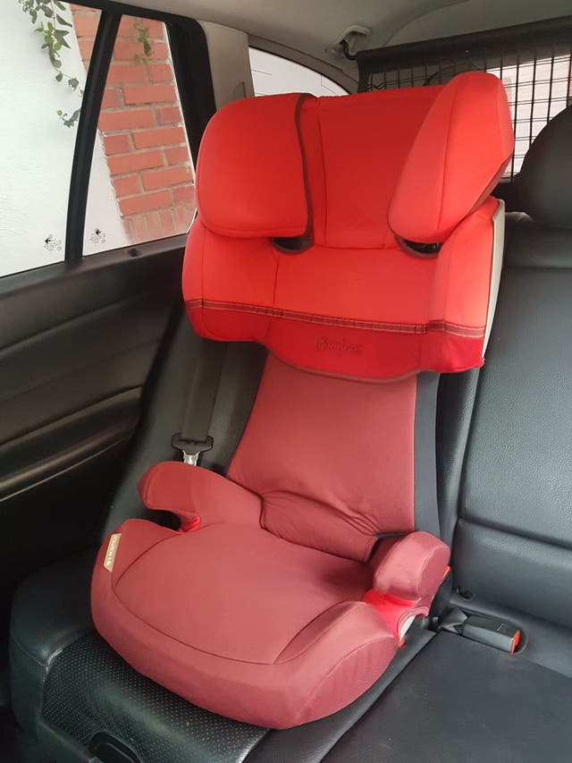 Silla de coche 2/3 Cybex Solution X (No Isofix)