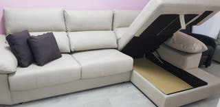 sofa Chaiselong XXL ITALIANO ANTIMANCHA 749€