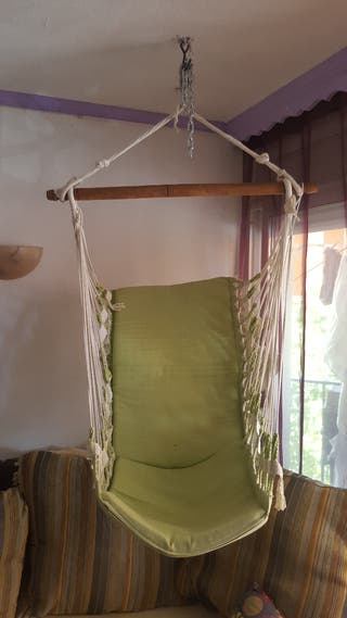 silla colgante brasileña