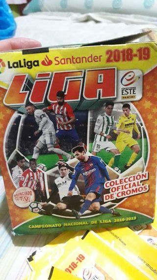 cromos de fútbol liga santander 2018/2019