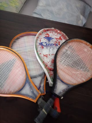 raquetas de tenis de niño