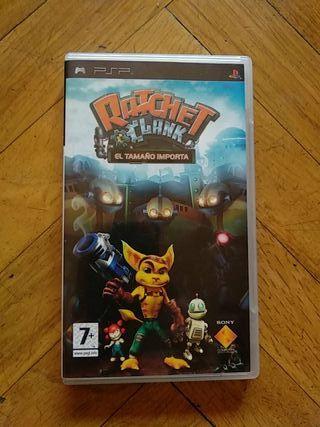 Ratchet & Clank El tamaño importa PSP