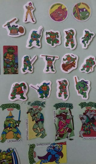 CROMOS TORTUGAS NINJA. teenage.mutant.ninja.turtle