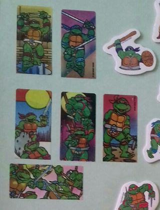 CROMOS TORTUGAS NINJA. teenage.mutant.ninja.turtle