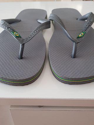 sandalias hawaiana brasileñas no replica