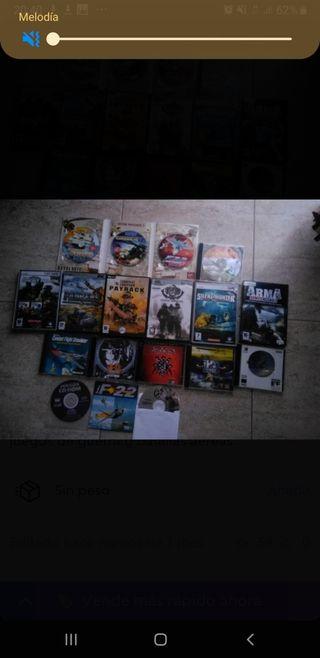 Colección de Videojuegos de pc