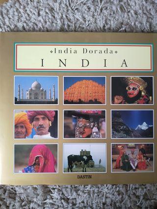 Libro de fotografías de la India