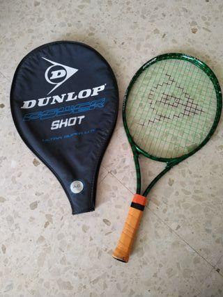 Raqueta tenis DUNLOP niñ@ con funda