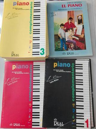 PIANO COMPLEMENTARIO 1,2,3 improvisacion y acomp.